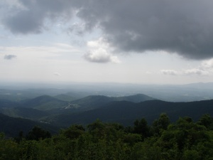 View from the Blue Ridge Parkway