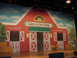 Grand Ole Opry on the Ryman Stage