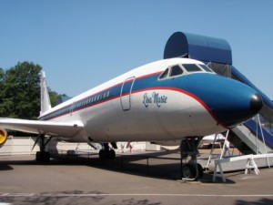 The Lisa Marie jet stays home at Graceland.