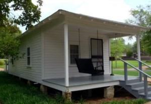 Elvis Presley's birthplace in Tupelo, Mississippi