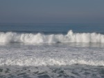 Surf at San Simeon, CA